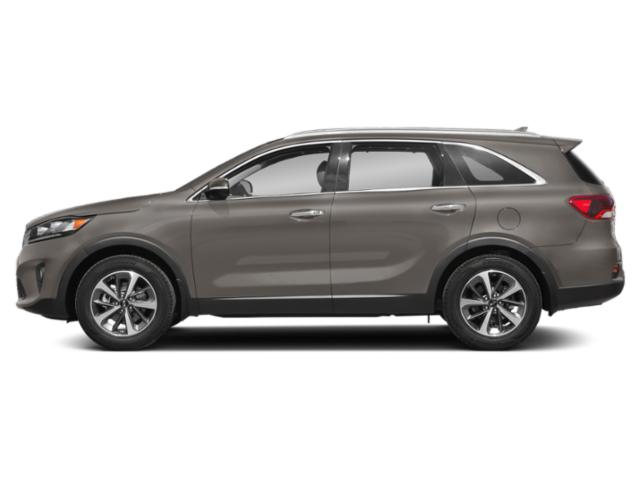 Titanium Silver 2019 Kia Sorento Pictures Sorento SX Limited V6 FWD photos side view