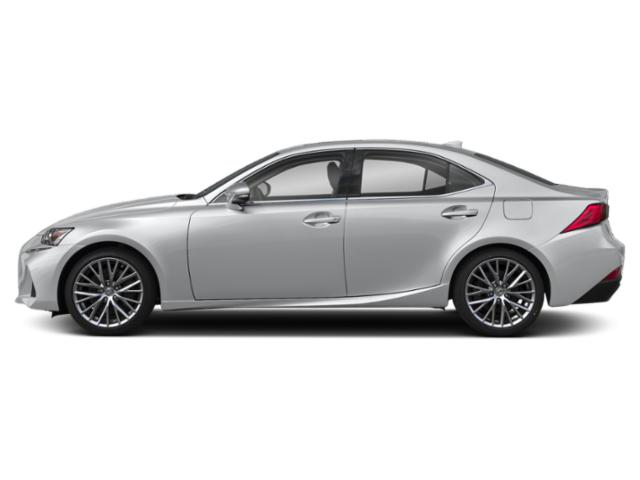 Liquid Platinum 2019 Lexus IS Pictures IS IS 300 F SPORT RWD photos side view