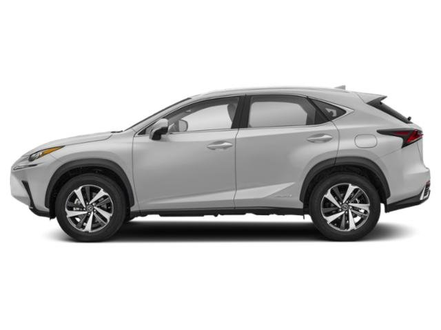Silver Lining Metallic 2019 Lexus NX Pictures NX NX 300h AWD photos side view