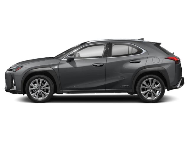 Nebula Gray Pearl 2019 Lexus UX Pictures UX UX 250h AWD photos side view