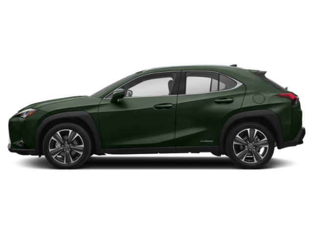 Nori Green Pearl 2019 Lexus UX Pictures UX UX 250h AWD photos side view