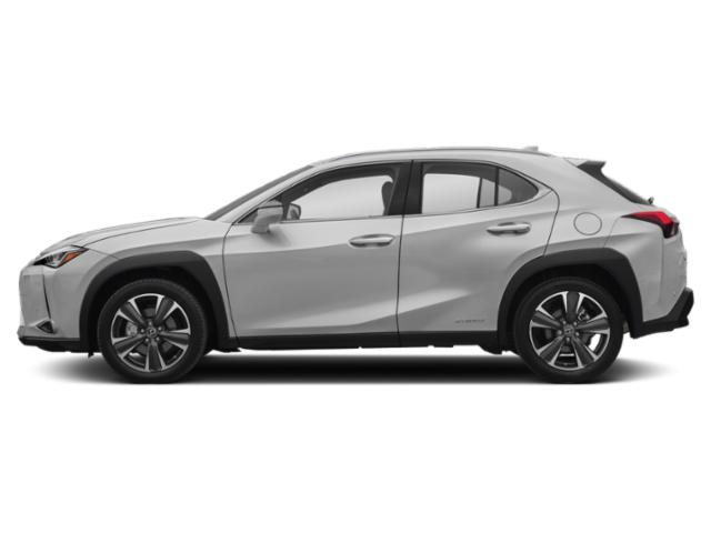 Silver Lining Metallic 2019 Lexus UX Pictures UX UX 250h AWD photos side view