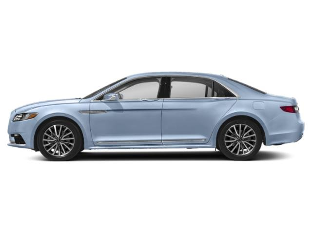 Chroma Crystal Blue Metallic 2019 Lincoln Continental Pictures Continental Black Label AWD photos side view
