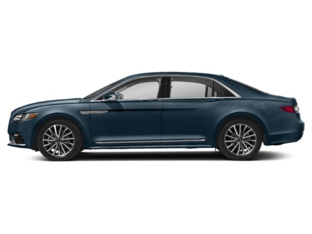 Blue Diamond Metallic 2019 Lincoln Continental Pictures Continental Select AWD photos side view