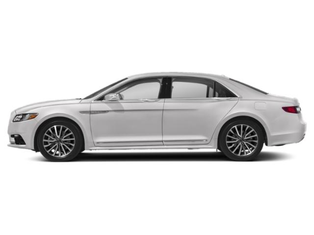 Ceramic Pearl Metallic 2019 Lincoln Continental Pictures Continental Select AWD photos side view