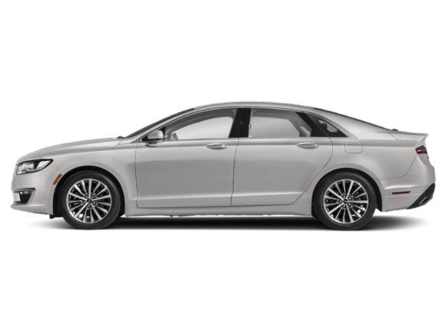 White Platinum Metallic Tri-Coat 2019 Lincoln MKZ Pictures MKZ Hybrid Reserve II FWD photos side view
