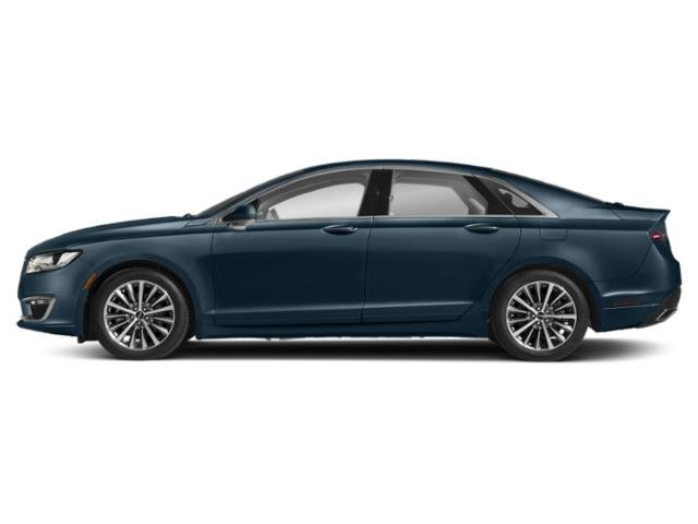Blue Diamond Metallic 2019 Lincoln MKZ Pictures MKZ Hybrid Reserve II FWD photos side view