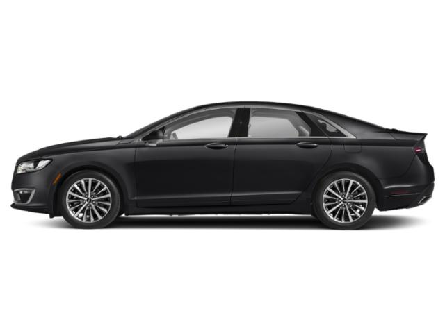 Infinite Black Metallic 2019 Lincoln MKZ Pictures MKZ Hybrid Reserve II FWD photos side view