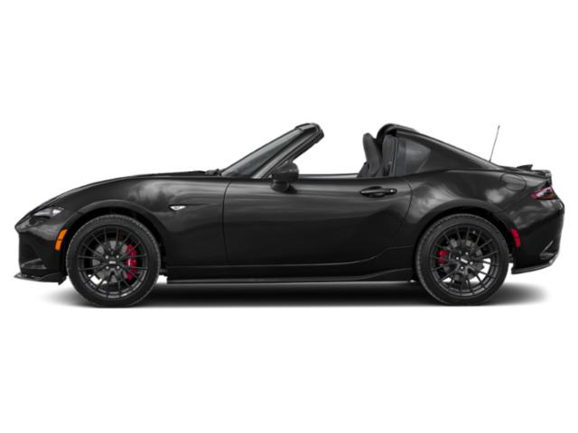 Jet Black Mica 2019 Mazda MX-5 Miata RF Pictures MX-5 Miata RF Club Manual photos side view