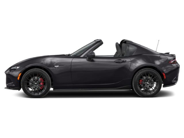 Machine Gray Metallic 2019 Mazda MX-5 Miata RF Pictures MX-5 Miata RF Club Manual photos side view