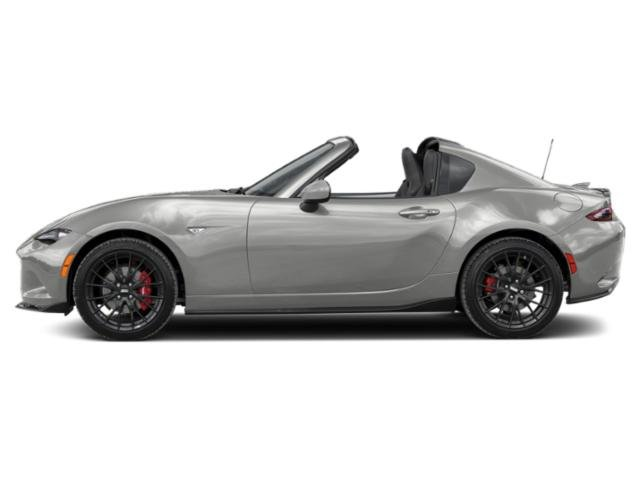 Ceramic Metallic 2019 Mazda MX-5 Miata RF Pictures MX-5 Miata RF Club Manual photos side view