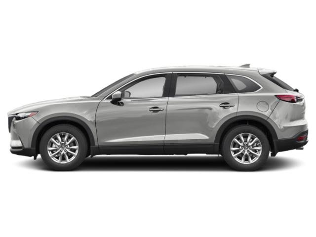 Sonic Silver Metallic 2019 Mazda CX-9 Pictures CX-9 Touring FWD photos side view