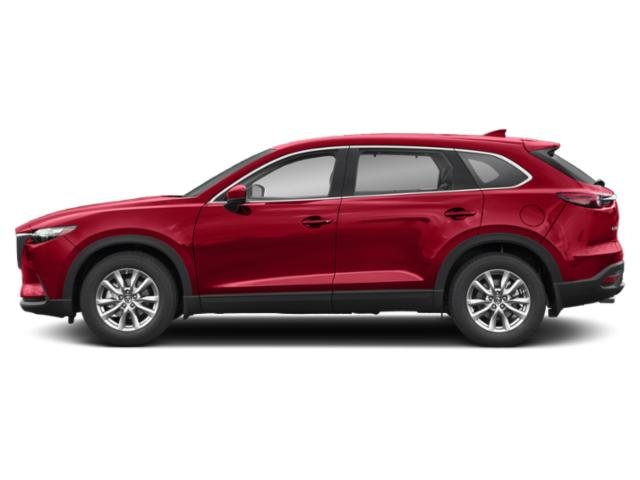 Soul Red Crystal Metallic 2019 Mazda CX-9 Pictures CX-9 Touring FWD photos side view