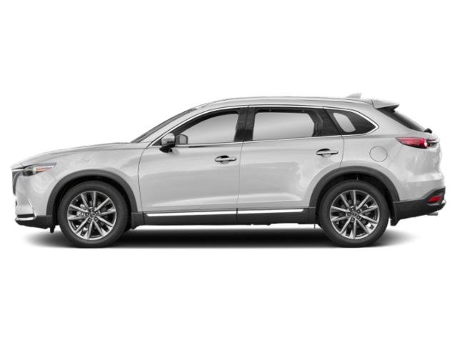 Snowflake White Pearl Mica 2019 Mazda CX-9 Pictures CX-9 Grand Touring FWD photos side view