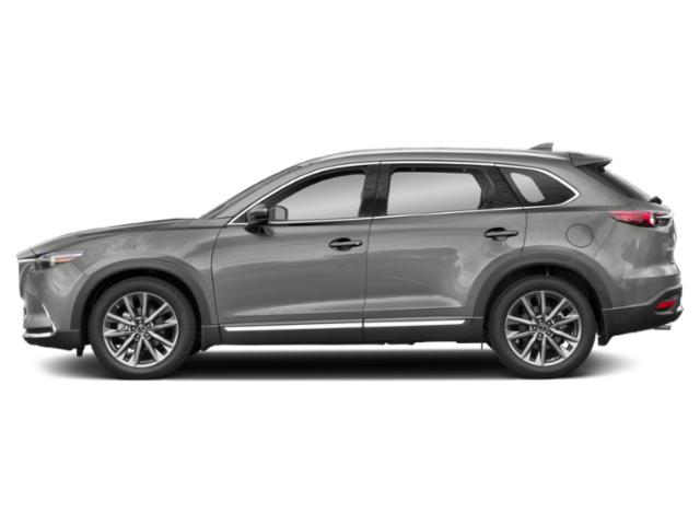 Sonic Silver Metallic 2019 Mazda CX-9 Pictures CX-9 Grand Touring FWD photos side view