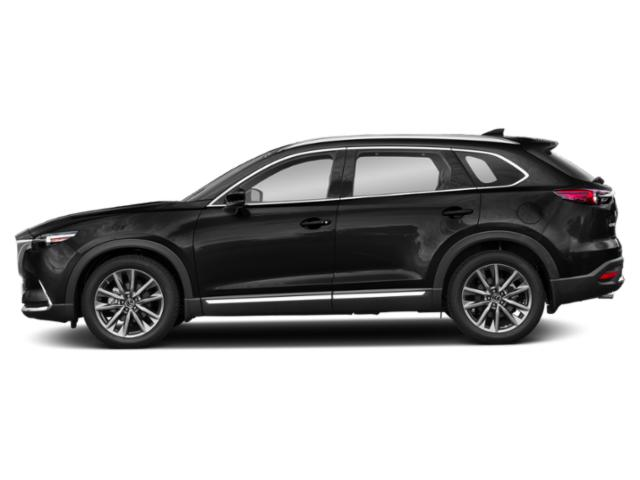 Jet Black Mica 2019 Mazda CX-9 Pictures CX-9 Grand Touring FWD photos side view