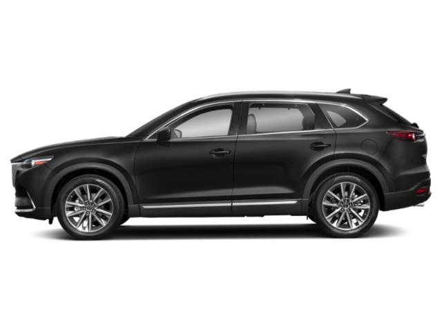 Jet Black Mica 2019 Mazda CX-9 Pictures CX-9 Grand Touring AWD photos side view