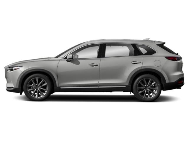 Sonic Silver Metallic 2019 Mazda CX-9 Pictures CX-9 Signature AWD photos side view
