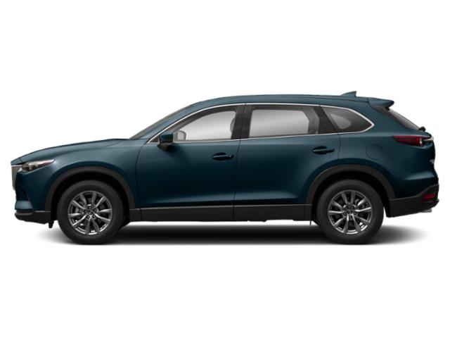 Deep Crystal Blue Mica 2019 Mazda CX-9 Pictures CX-9 Touring AWD photos side view