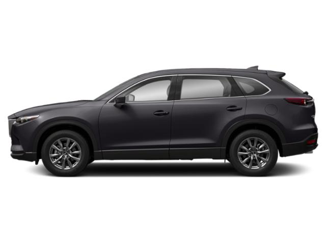 Machine Gray Metallic 2019 Mazda CX-9 Pictures CX-9 Touring AWD photos side view