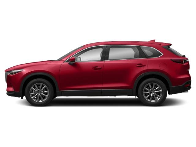 Soul Red Crystal Metallic 2019 Mazda CX-9 Pictures CX-9 Touring AWD photos side view