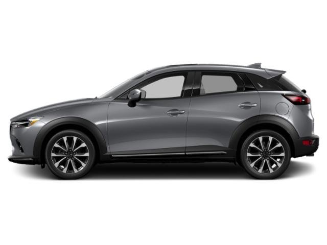 Machine Gray Metallic 2019 Mazda CX-3 Pictures CX-3 Touring FWD photos side view