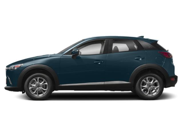 Deep Crystal Blue Mica 2019 Mazda CX-3 Pictures CX-3 Sport AWD photos side view