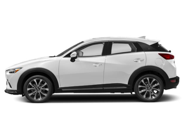 Snowflake White Pearl 2019 Mazda CX-3 Pictures CX-3 Grand Touring AWD photos side view