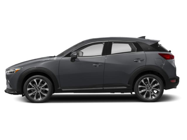 Machine Gray Metallic 2019 Mazda CX-3 Pictures CX-3 Grand Touring AWD photos side view