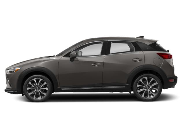 Titanium Flash Mica 2019 Mazda CX-3 Pictures CX-3 Grand Touring AWD photos side view