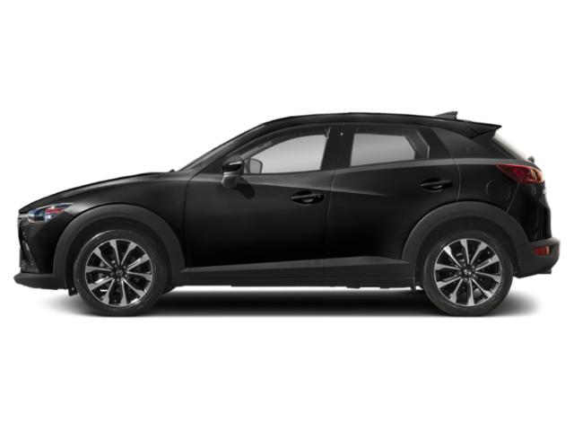 Jet Black Mica 2019 Mazda CX-3 Pictures CX-3 Touring AWD photos side view