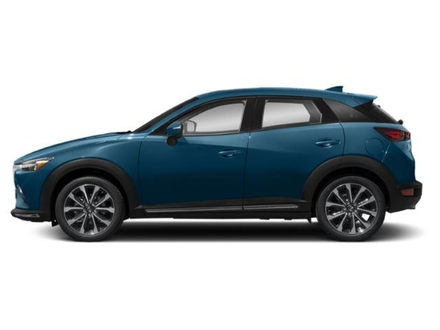 Eternal Blue Mica 2019 Mazda CX-3 Pictures CX-3 Touring FWD photos side view