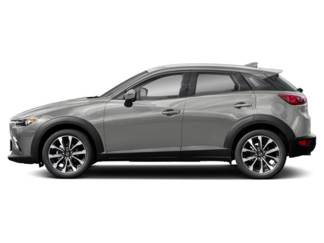 Ceramic Metallic 2019 Mazda CX-3 Pictures CX-3 Touring FWD photos side view