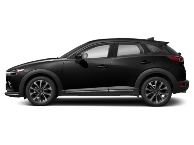 Jet Black Mica 2019 Mazda CX-3 Pictures CX-3 Grand Touring FWD photos side view