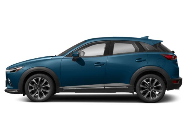 Eternal Blue Mica 2019 Mazda CX-3 Pictures CX-3 Grand Touring FWD photos side view