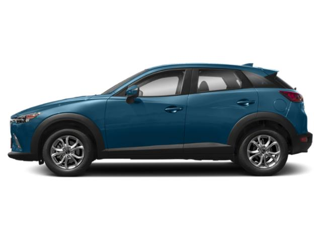 Eternal Blue Mica 2019 Mazda CX-3 Pictures CX-3 Sport AWD photos side view