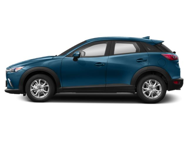 Eternal Blue Mica 2019 Mazda CX-3 Pictures CX-3 Sport FWD photos side view