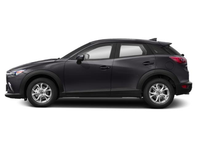 Machine Gray Metallic 2019 Mazda CX-3 Pictures CX-3 Sport FWD photos side view