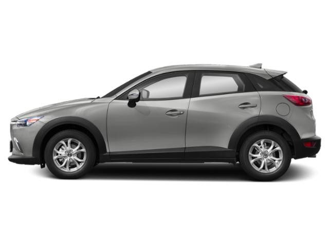 Ceramic Metallic 2019 Mazda CX-3 Pictures CX-3 Sport FWD photos side view