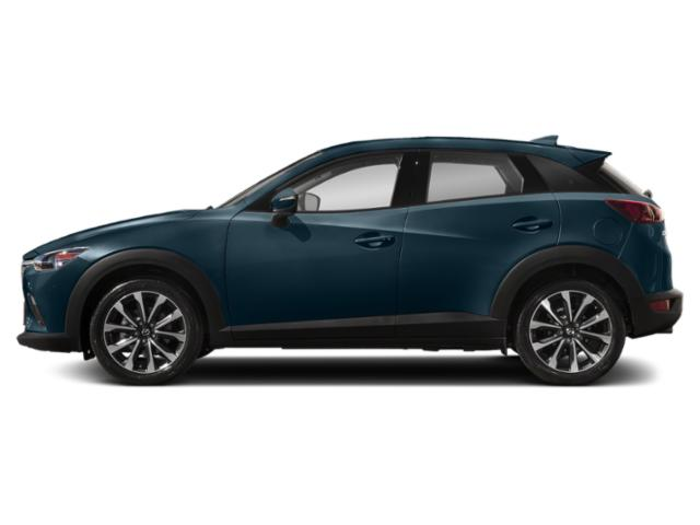 Deep Crystal Blue Mica 2019 Mazda CX-3 Pictures CX-3 Touring AWD photos side view