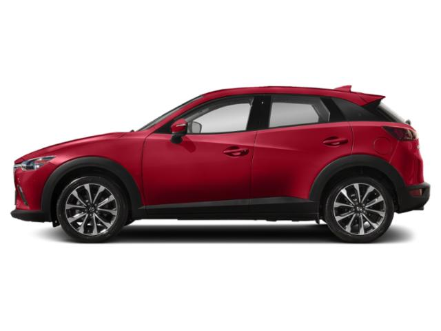 Soul Red Crystal Metallic 2019 Mazda CX-3 Pictures CX-3 Touring AWD photos side view