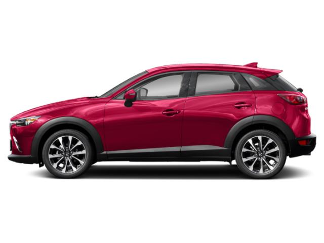 Soul Red Crystal Metallic 2019 Mazda CX-3 Pictures CX-3 Touring FWD photos side view