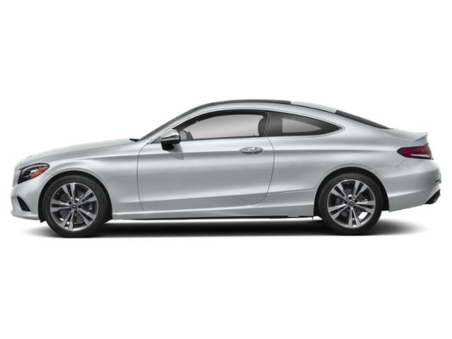 Mojave Silver Metallic 2019 Mercedes-Benz C-Class Pictures C-Class C 300 4MATIC Coupe photos side view
