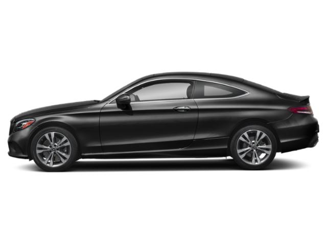 Obsidian Black Metallic 2019 Mercedes-Benz C-Class Pictures C-Class C 300 4MATIC Coupe photos side view
