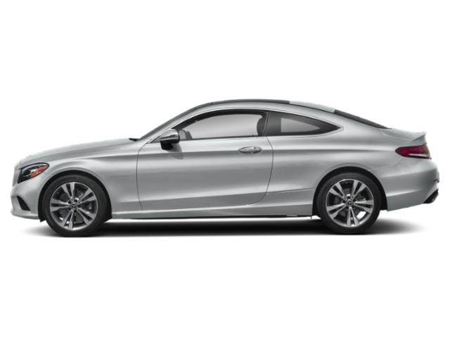 Iridium Silver Metallic 2019 Mercedes-Benz C-Class Pictures C-Class C 300 4MATIC Coupe photos side view