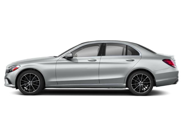 Mojave Silver Metallic 2019 Mercedes-Benz C-Class Pictures C-Class C 300 Sedan photos side view