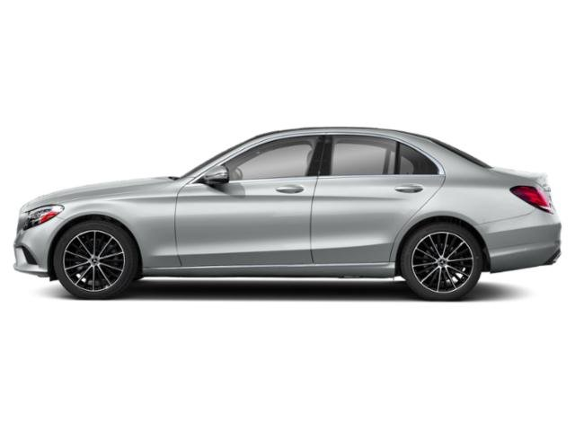 Mojave Silver Metallic 2019 Mercedes-Benz C-Class Pictures C-Class C 300 4MATIC Sedan photos side view