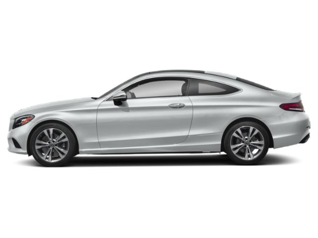 Mojave Silver Metallic 2019 Mercedes-Benz C-Class Pictures C-Class C 300 Coupe photos side view