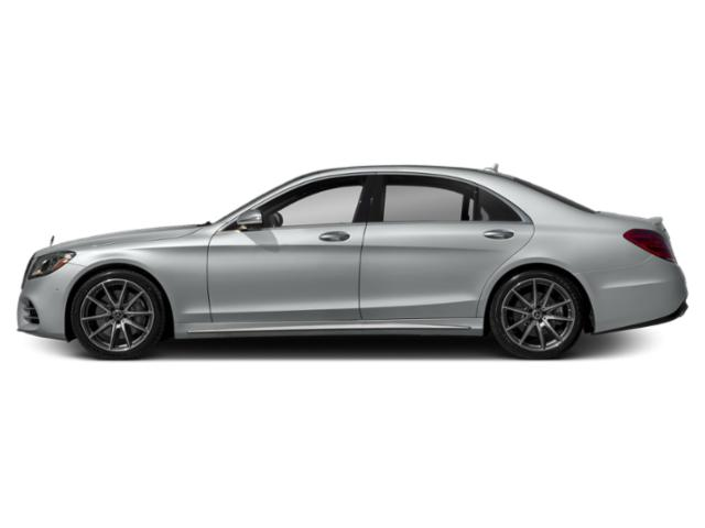 Iridium Silver Metallic 2019 Mercedes-Benz S-Class Pictures S-Class S 450 4MATIC Sedan photos side view