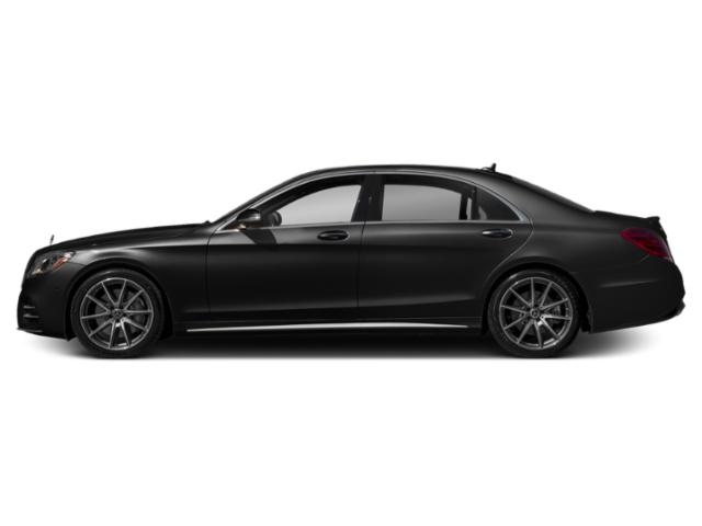 Obsidian Black Metallic 2019 Mercedes-Benz S-Class Pictures S-Class S 450 4MATIC Sedan photos side view